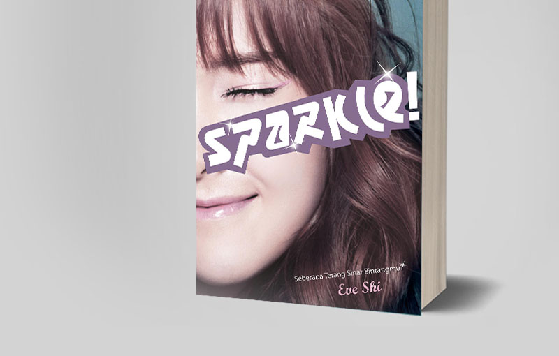 Book Cover Sparkle Korean Book