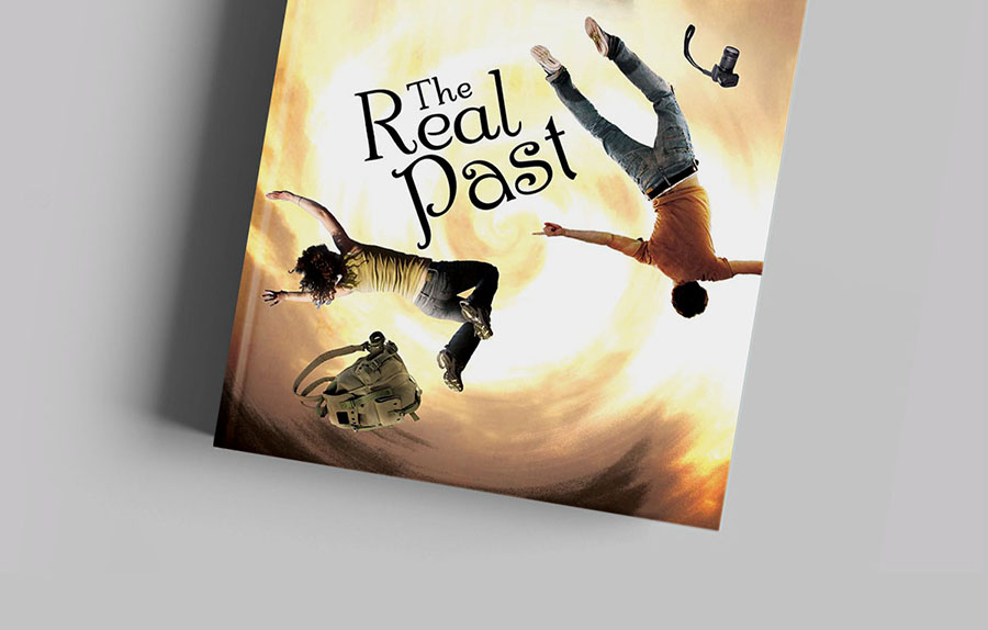 Book Cover Novel Real past