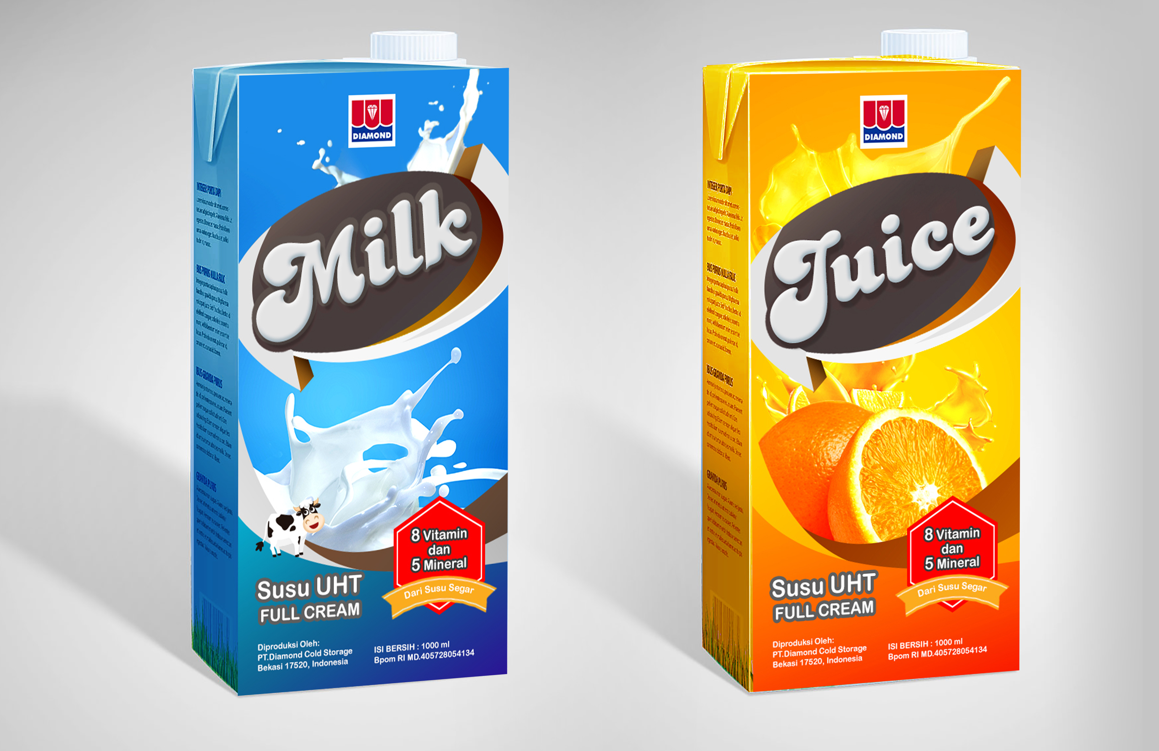 Pakcaging Juice and Milk